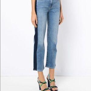 7 For all Mankind Women's Kiki Crop Jeans Size 32